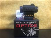BLACK SPIDER OPTICS RED DOT SIGHT M0129 ILLUMINATED 3MIL DOT